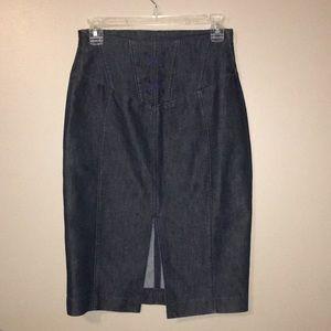 High waisted skirt Express skirt size 2